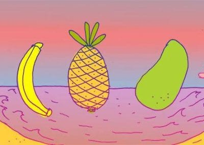 ★ DR. PIRA per H Y S T E R I A ★ / Frutta Esotica / 2017