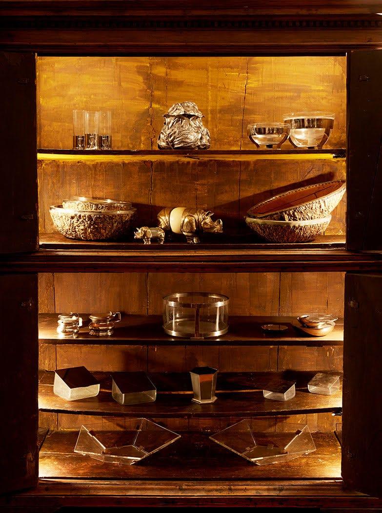Oggetti vari di Gabriella Crespi ©Archivio Gabriella Crespi. Foto Fulvio Bonavia