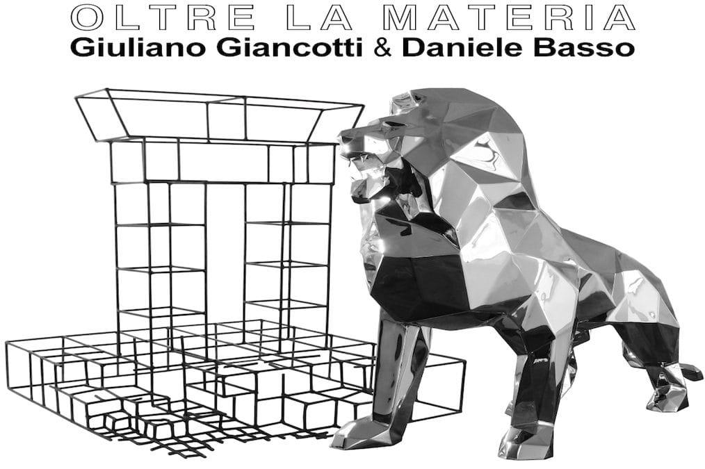 Oltre la Materia – la bipersonale di Daniele Basso e Giuliano Giancotti