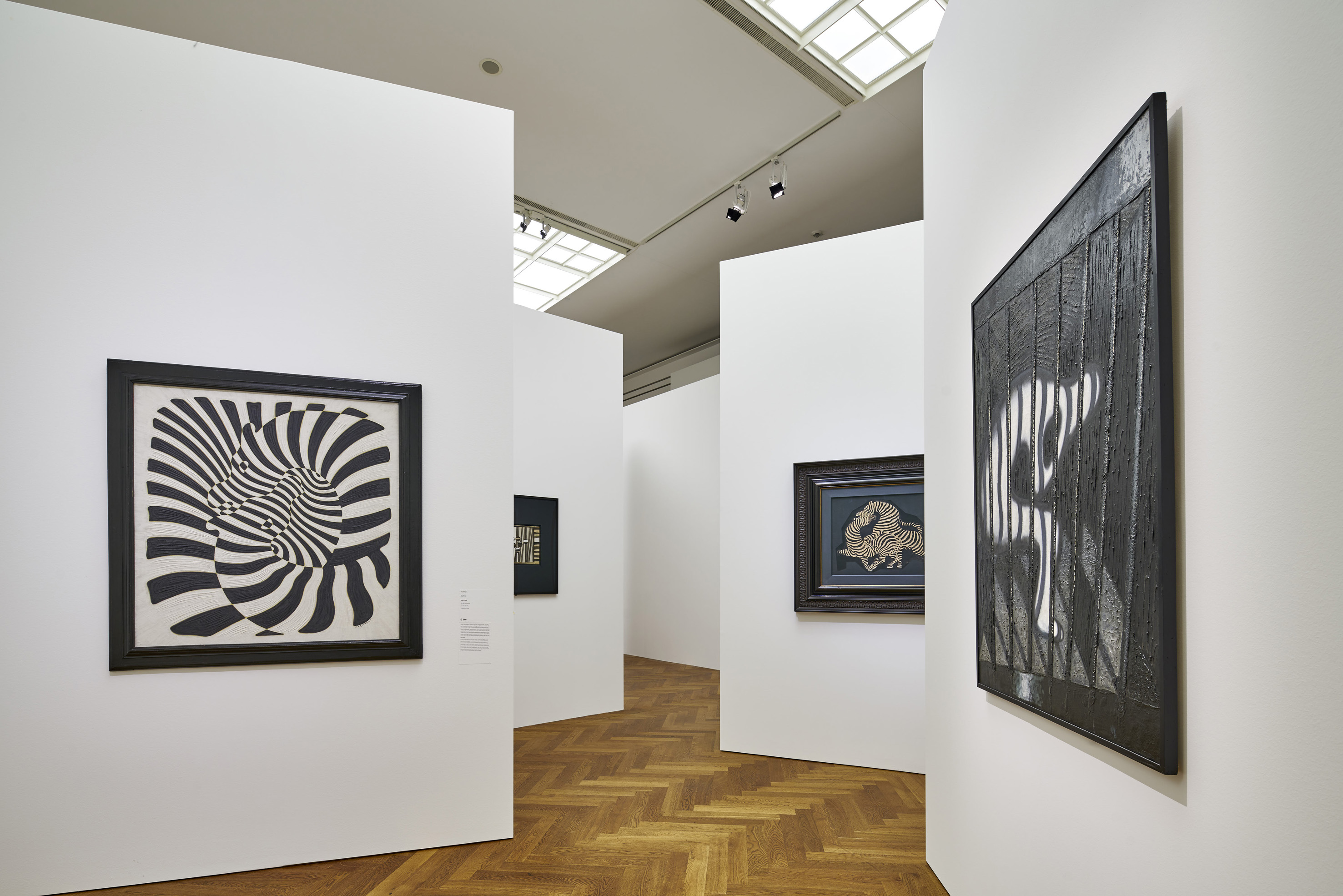 "Exhibition view ""Victor Vasarely. In the Labyrinth of Modernism"" Photo: Städel Museum"