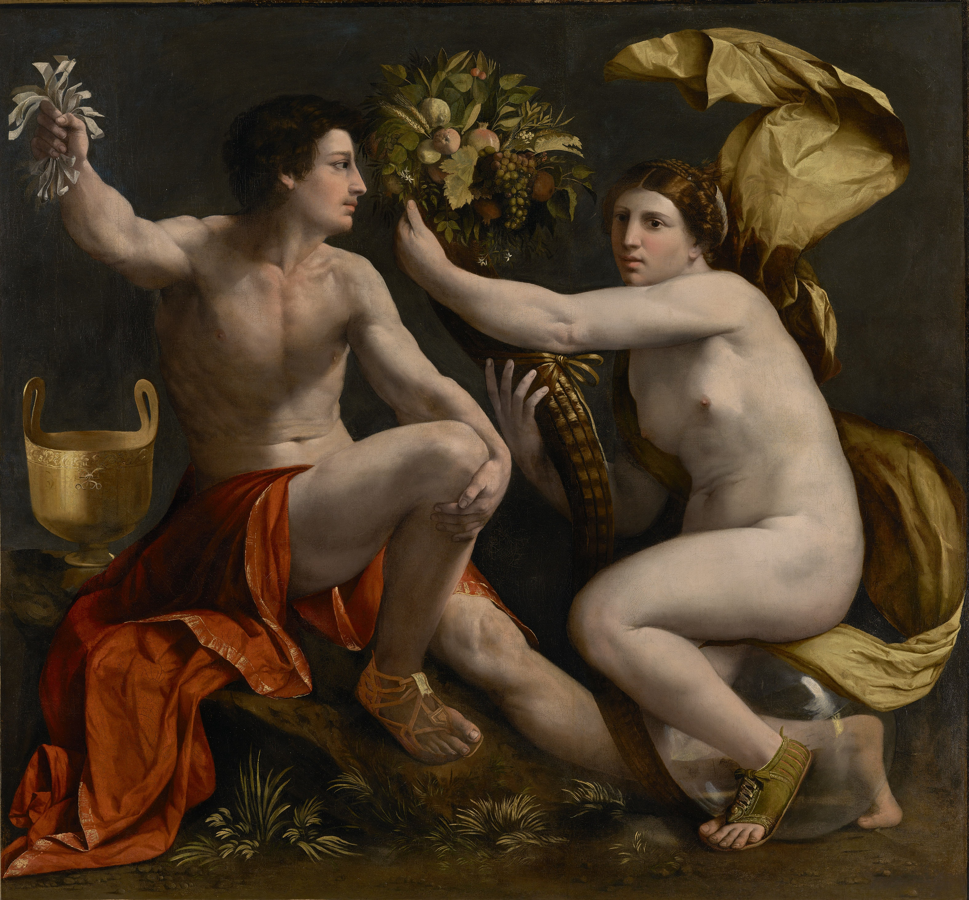 Dosso Dossi, Allegory of Fortune, c. 1530, Oil on canvas, 179.1 x 217.2 cm. The J. Paul Getty Museum, Los Angeles. Digital image courtesy of the Getty's Open Content Program