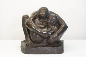 K. Kollwitz, Mutter mit zwei Kindern, 1932-1936, Bronze, Privatsammlung, Köln