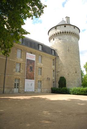 Vue du Château de Tours Photo Adrien Chevrot / © Jeu de Paume