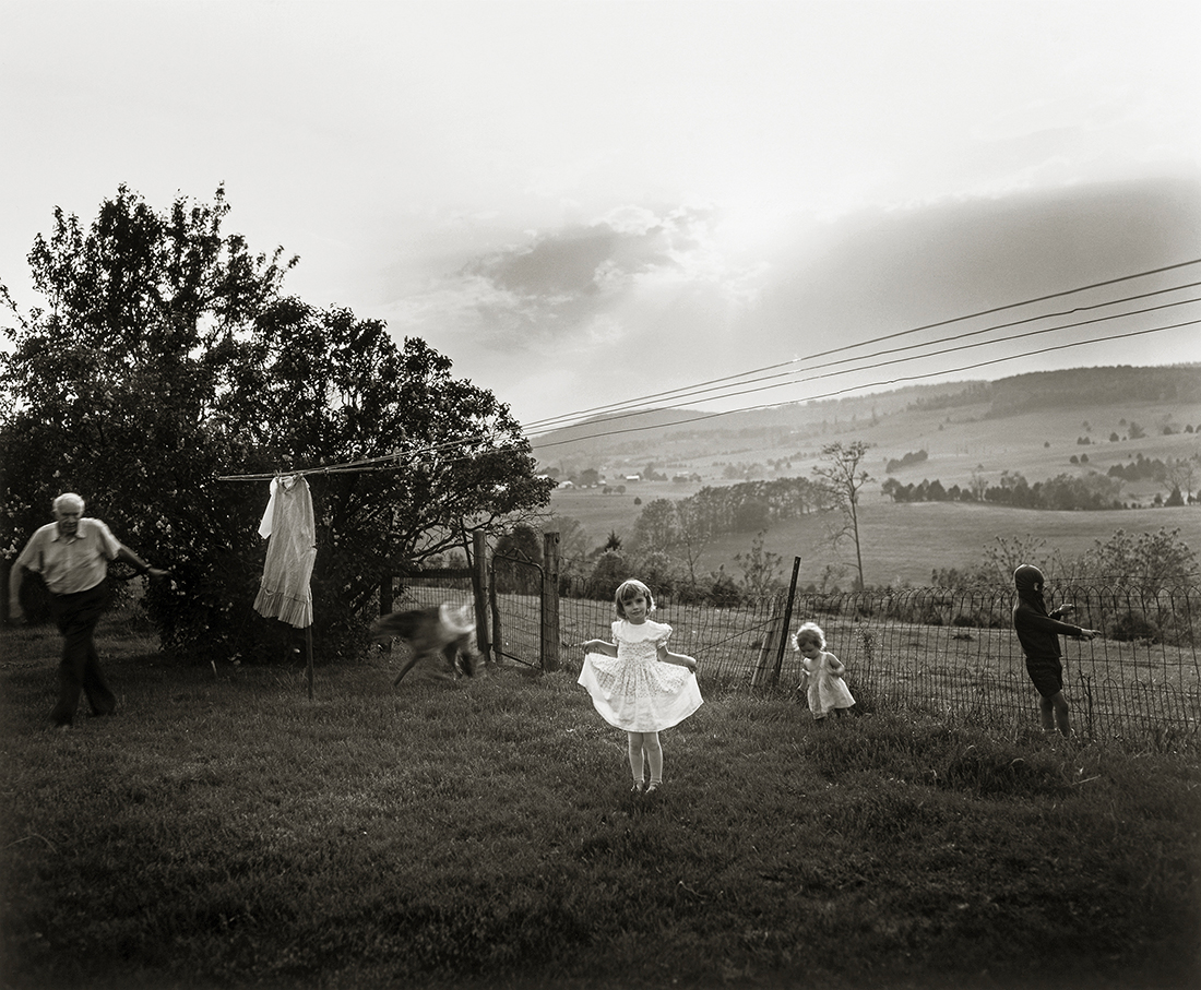 Easter Dress 1986 Sally Mann Patricia and David Schulte. © Sally Mann