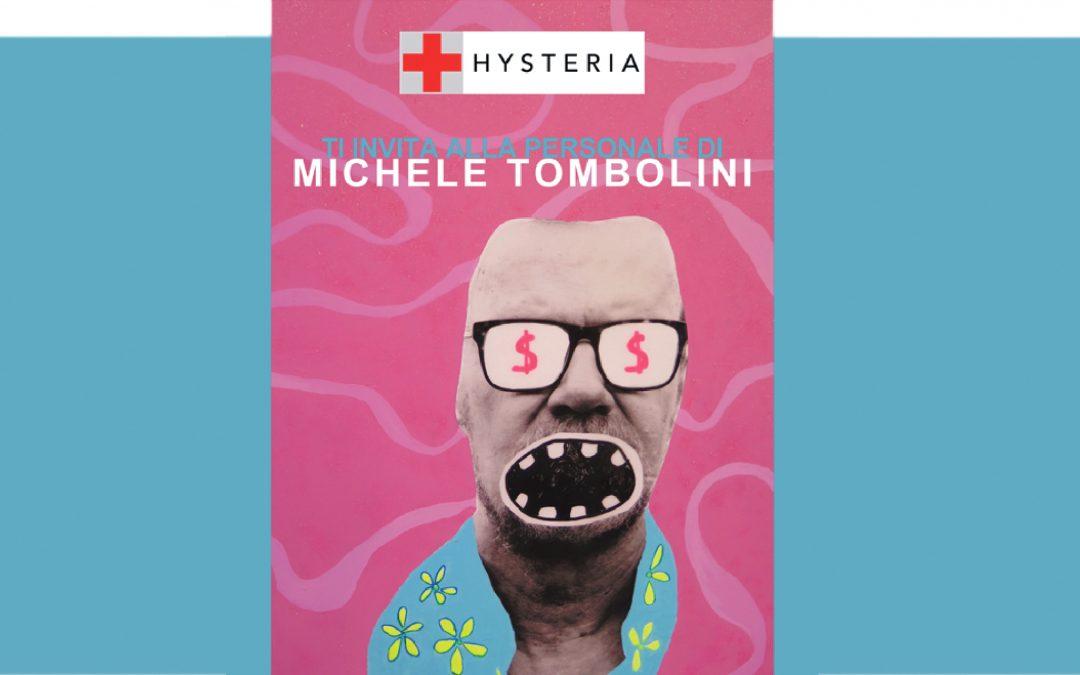 La Social Pop-Art dell'artista veneziano Michele Tombolini in mostra presso HYSTERIA ART Gallery