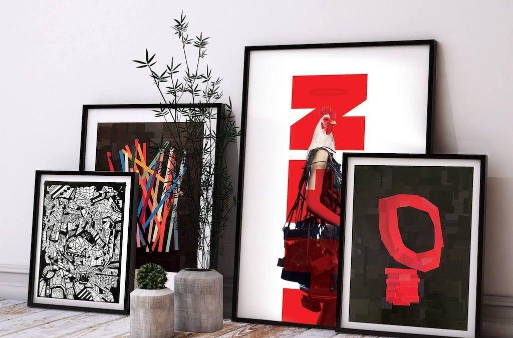 Emanel Bullita: l'artista del collage
